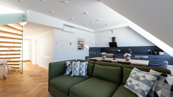 S - Luxury Estates - Josefstadt 14 - Helle, moderne Maisonett – Dachgeschosswohnung