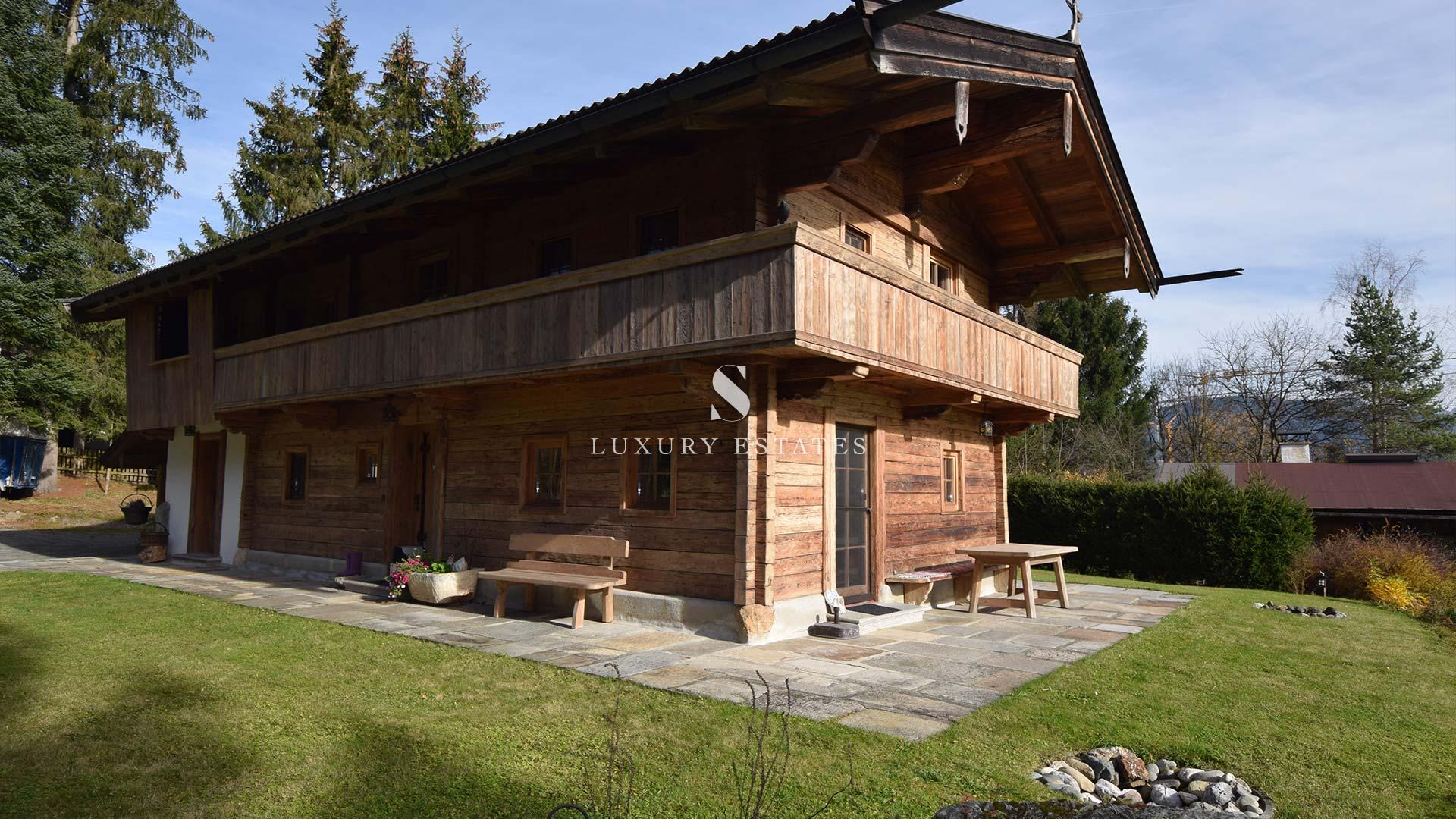 S - Luxury Estates - Bauernhaus Kitzbühel